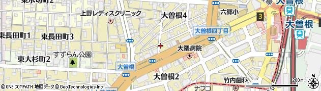 八八周辺の地図