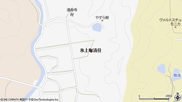 〒669-3626 兵庫県丹波市氷上町清住の地図
