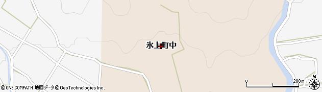 兵庫県丹波市氷上町中周辺の地図