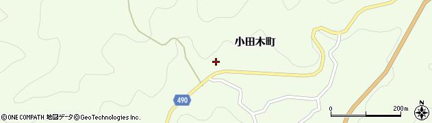 愛知県豊田市小田木町(西ノ洞)周辺の地図
