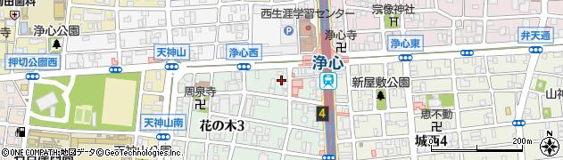 いづみ屋食堂周辺の地図