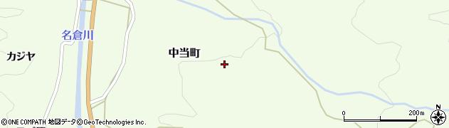 愛知県豊田市中当町(大林)周辺の地図