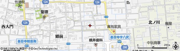 愛知県あま市甚目寺(松山)周辺の地図
