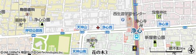 ベントマン全国FC本部ベントマン 天神山店周辺の地図
