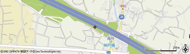 静岡県富士市神戸周辺の地図