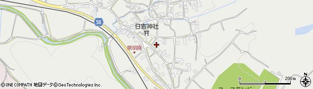 京都府南丹市日吉町胡麻(野化)周辺の地図