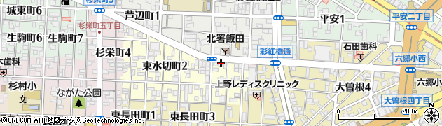 割烹直半周辺の地図