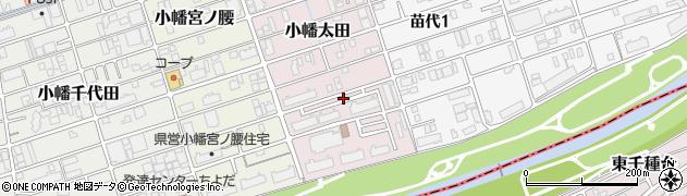 愛知県名古屋市守山区小幡太田周辺の地図