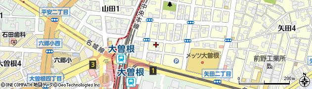 赤坂屋食堂周辺の地図