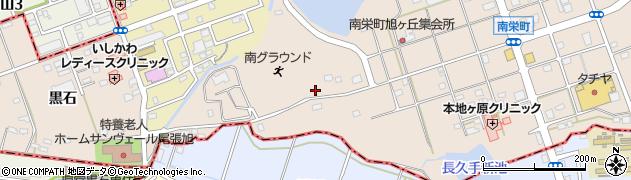 愛知県尾張旭市南栄町周辺の地図