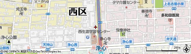 株式会社なご壱 浄心店周辺の地図