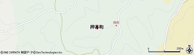 愛知県豊田市押井町周辺の地図
