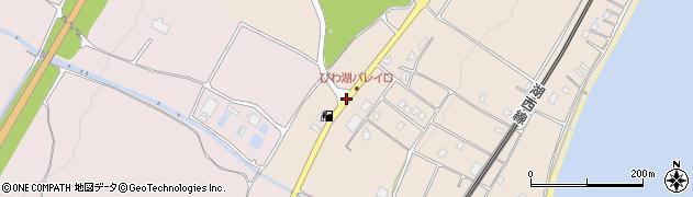 びわ湖バレイ口周辺の地図