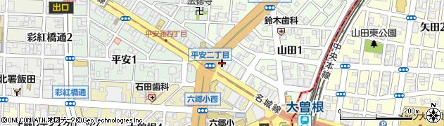 かどや周辺の地図