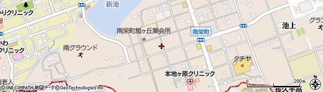 愛知県尾張旭市南栄町(旭ケ丘)周辺の地図