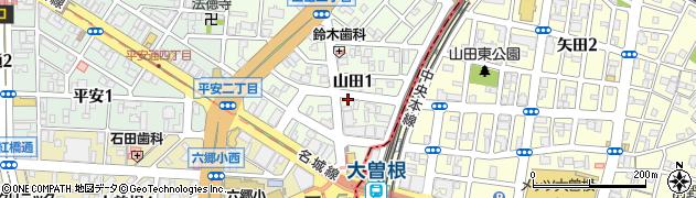 ほこ家周辺の地図