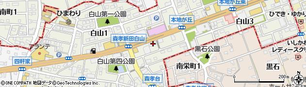 萬珍館守山店周辺の地図