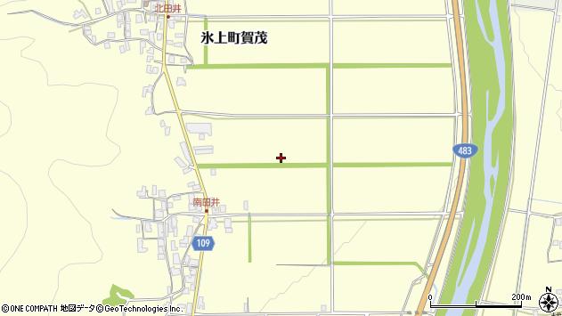 〒669-3631 兵庫県丹波市氷上町賀茂の地図