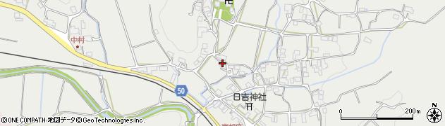 京都府南丹市日吉町胡麻(長通)周辺の地図