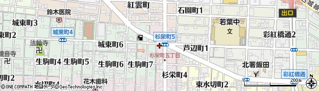 ラーメンおか田周辺の地図