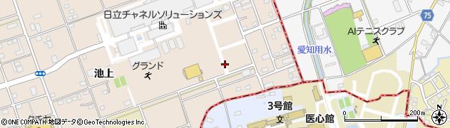 日立社宅周辺の地図