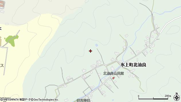 〒669-3653 兵庫県丹波市氷上町北油良の地図