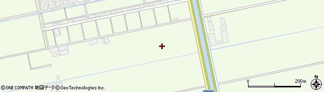 滋賀県東近江市大中町周辺の地図
