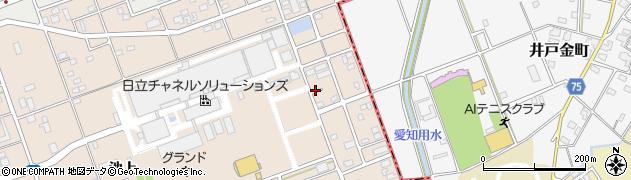 愛知県尾張旭市晴丘町(東)周辺の地図