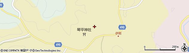 愛知県豊田市伊熊町(小谷下)周辺の地図