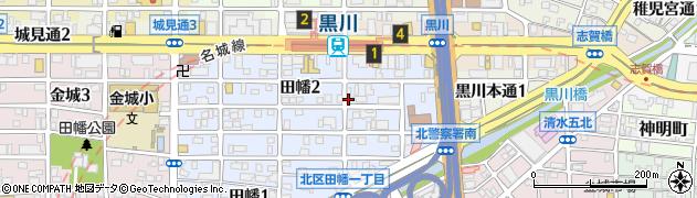 鯱乃家周辺の地図