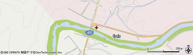 京都府京都市右京区京北井戸町(上台)周辺の地図