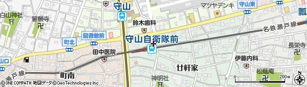 堀田家周辺の地図