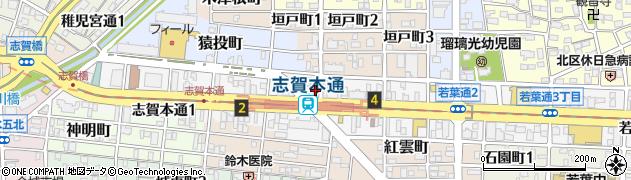 炉端屋かかし周辺の地図