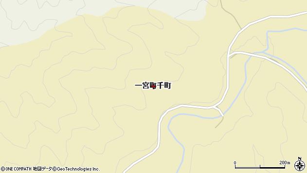 〒671-4108 兵庫県宍粟市一宮町千町の地図