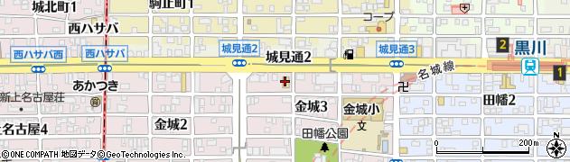サガミ 黒川店周辺の地図