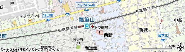 有限会社魚こう 本店周辺の地図