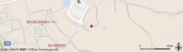 西琳寺周辺の地図
