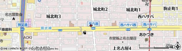 愛知県名古屋市西区秩父通周辺の地図