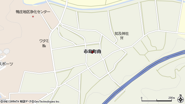 〒669-4314 兵庫県丹波市市島町南の地図