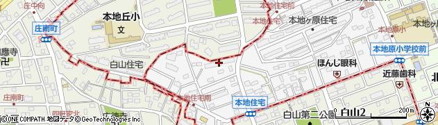 緑ケ丘レックスマンション周辺の地図