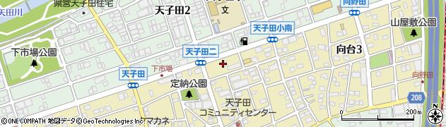豆乃木周辺の地図