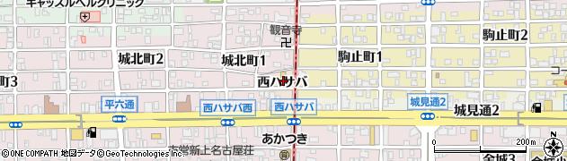 愛知県名古屋市西区田幡町周辺の地図