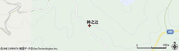 愛知県豊田市押井町(神之辻)周辺の地図