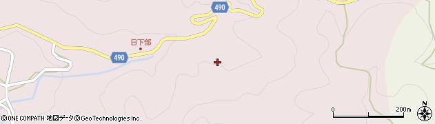 愛知県豊田市日下部町(堤)周辺の地図
