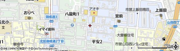 初味周辺の地図