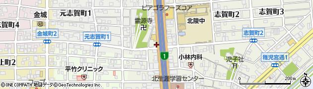 ヤーヤズ(Ya‐Ya's)周辺の地図