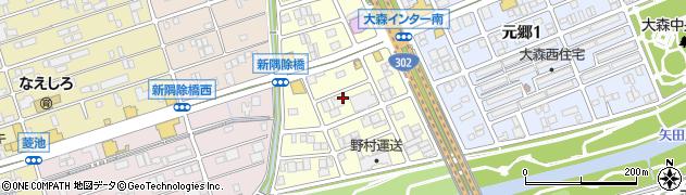 愛知県名古屋市守山区藪田町周辺の地図