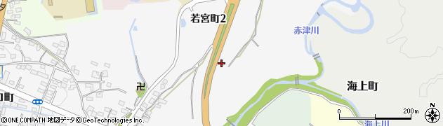 愛知県瀬戸市若宮町周辺の地図