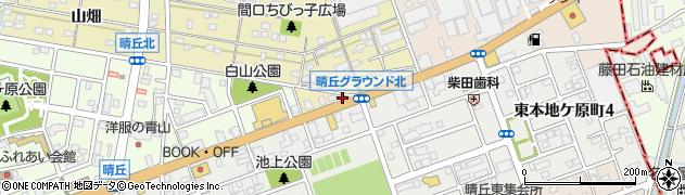 鳥鈴尾張旭店周辺の地図