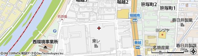 愛知県名古屋市西区堀越周辺の地図